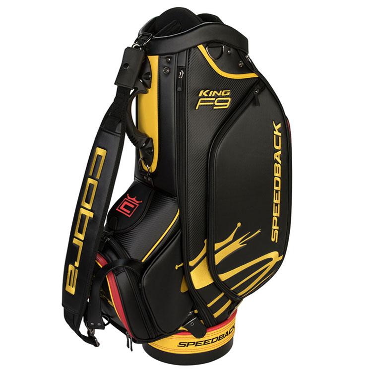 5bc8a5acc6 Cobra 2019 KING F9 Speedback Golf Tour Staff Bag Black/Yellow 909366-01