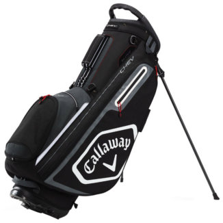 Callaway 2020 Chev Golf Stand Bag Black/White/Titanium 5120205