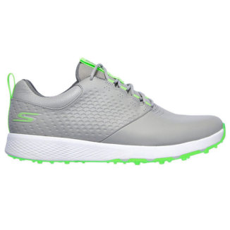 Skechers Go Golf Elite V4 Golf Shoes Gray/Lime 54552-GYLM