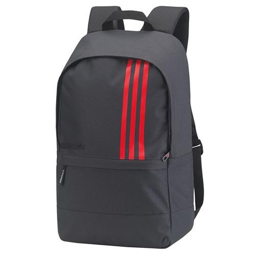 12f6fe440913 adidas 3 Stripes Small Golf Back Pack Dark Grey Scarlet BC2240