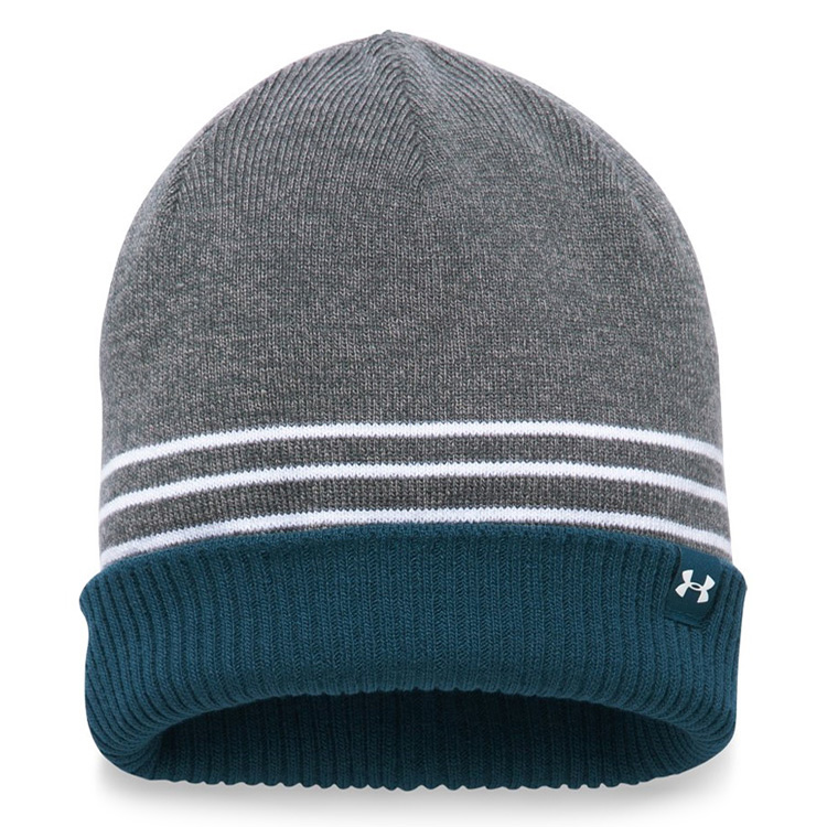 78ecddd8f35 Under Armour 4 In 1 Golf Beanie Graphite True Ink - Clubhouse Golf