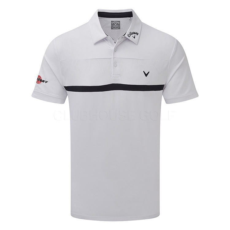 18355829d Callaway Tour Players Golf Polo Shirt Bright White - Clubhouse Golf
