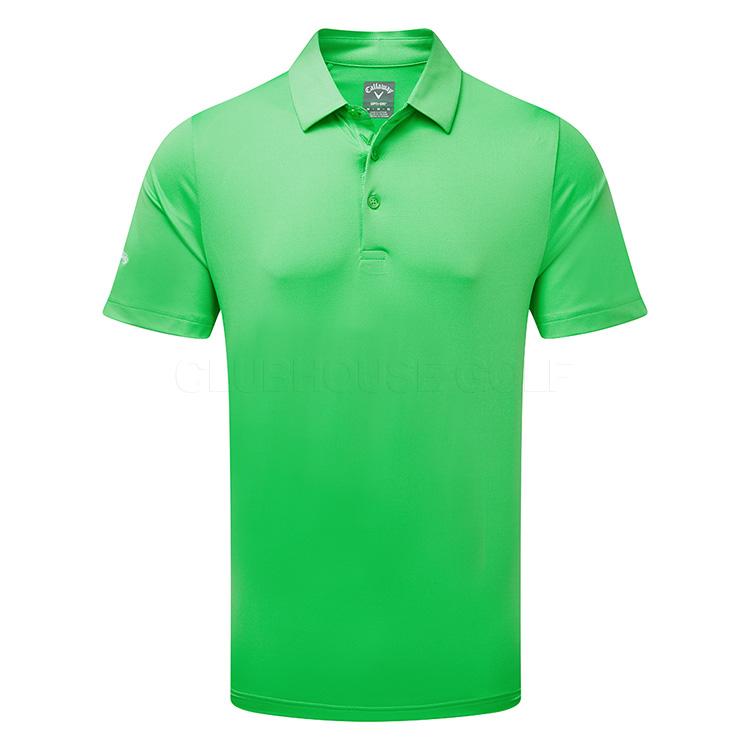 Callaway Swing Tech Solid Golf Polo Shirt Irish Green - Clubhouse Golf