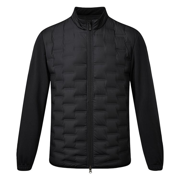 Altoparlante Meccanica Sorpreso  Nike AeroLoft Repel Thermal Golf Wind Jacket Black - Clubhouse Golf