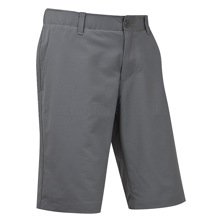 6c7de297 Under Armour Performance Taper Golf Shorts Pitch Grey - Clubhouse Golf