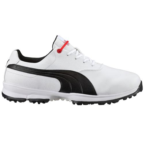 Puma Ace Golf Shoes White/Black/High Risk Red 188658-01