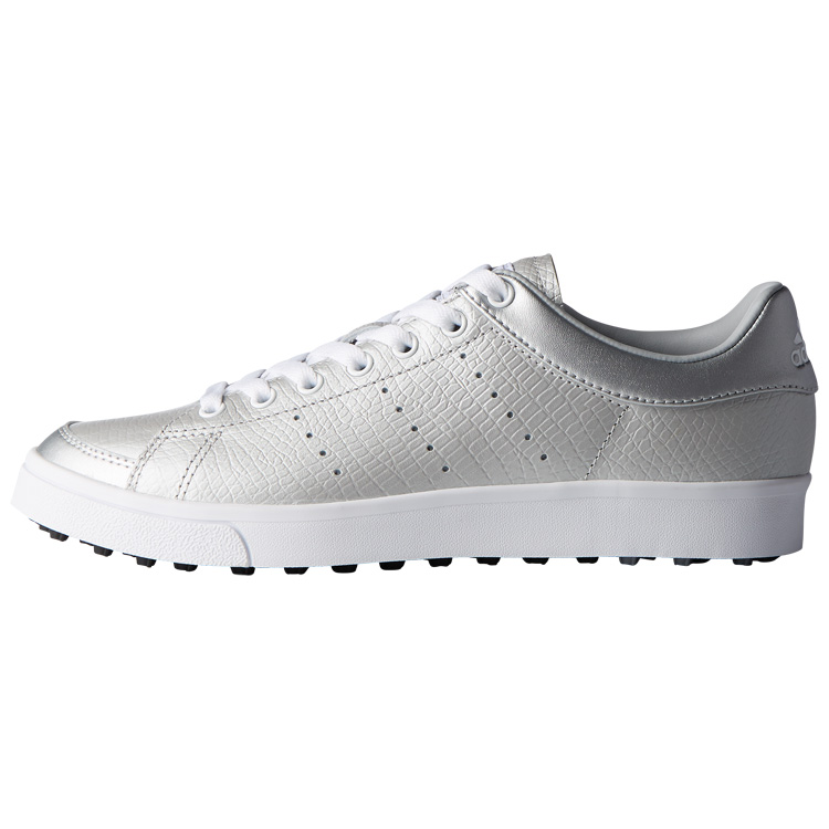 adidas Ladies adicross Classic Golf Shoes Silver White Black. Double tap to  zoom 128e7cb00