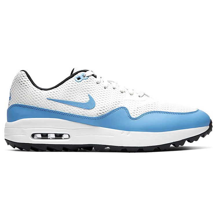 Costa el plastico productos quimicos  Nike Air Max 1G Golf Shoes White/Blue/Anthracite - Clubhouse Golf