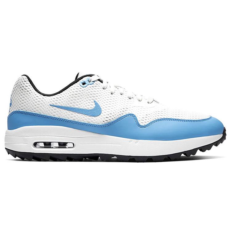 Nike Air Max 1G Golf Shoes White/Blue
