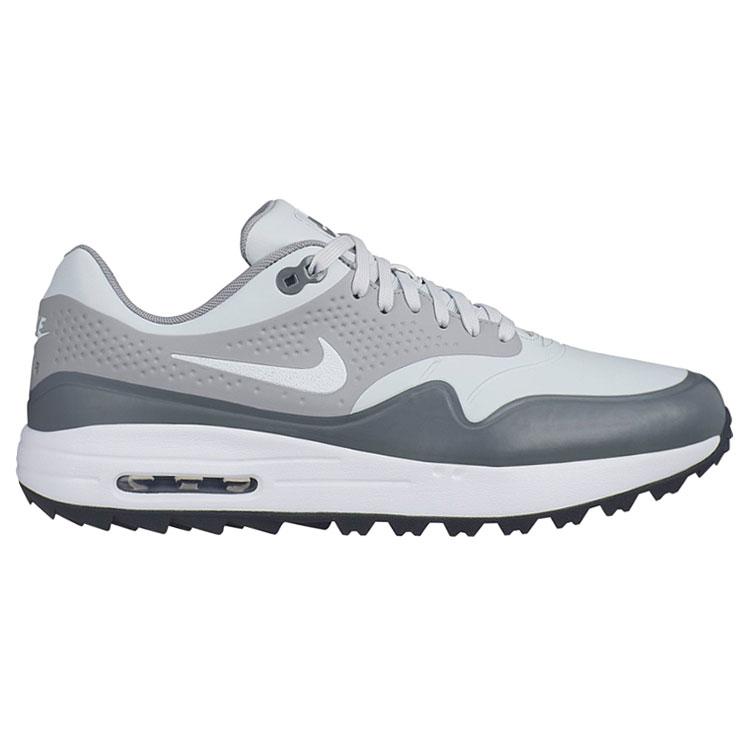 big sale 60a97 cbb95 Nike Air Max 1G Golf Shoes Platinum Wolf Grey AQ0863-002