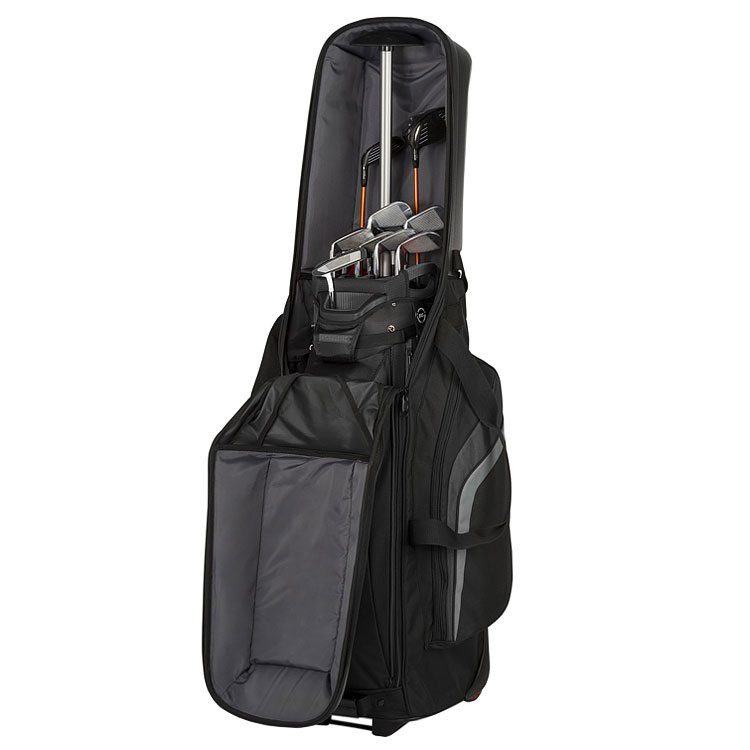 Bag Boy T-10 Hard Top Golf Travel Cover Black/Silver ...