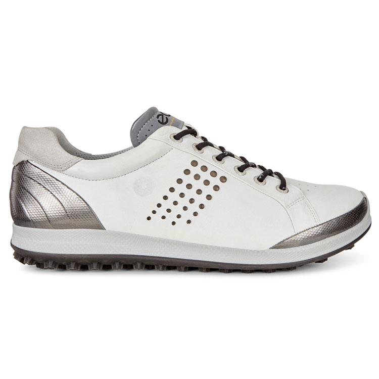 64738dc97001a Ecco Biom Hybrid 2 Golf Shoes White/Black - Clubhouse Golf