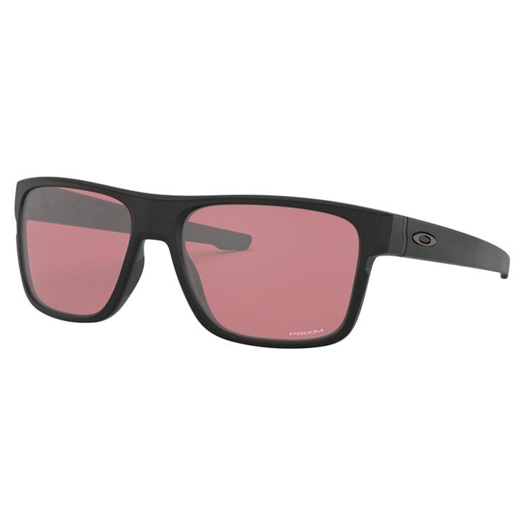 Oakley Crossrange Golf Sunglasses Matte Black Prizm Dark Golf OO9361-1757 6c60f9d0e86