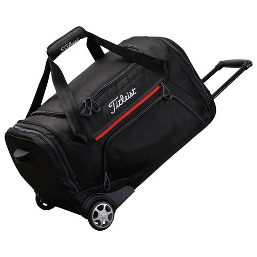 titleist essentials wheeled duffle bag clubhouse golf. Black Bedroom Furniture Sets. Home Design Ideas