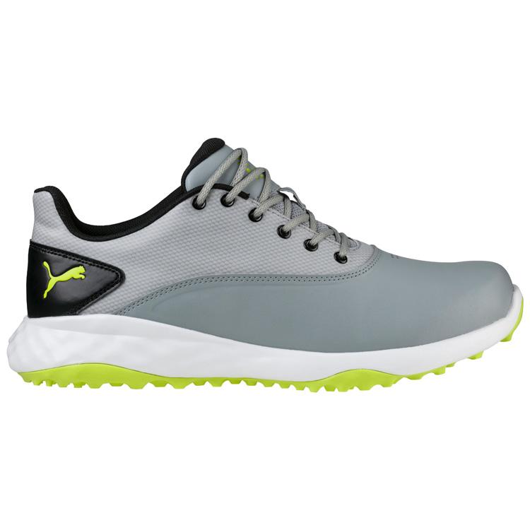 6197ee8bd3 Puma Grip Fusion Golf Shoes Quarry/Acid Lime/Black - Clubhouse Golf