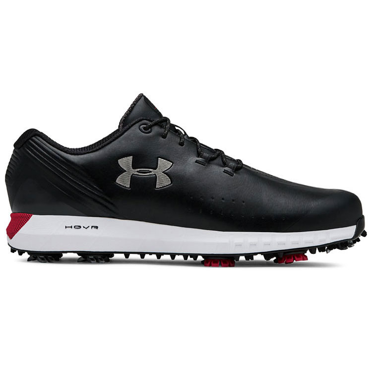 timeless design b4825 dc9c5 Under Armour HOVR Drive Golf Shoes Black/Silver/White ...