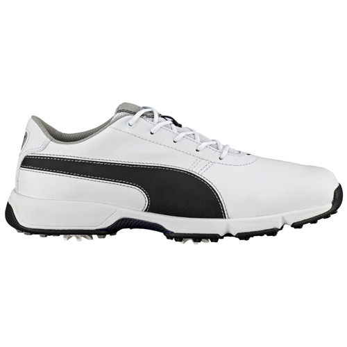 3eff1d71061b Puma Ignite Drive Golf Shoes White Black Drizzle - Clubhouse Golf