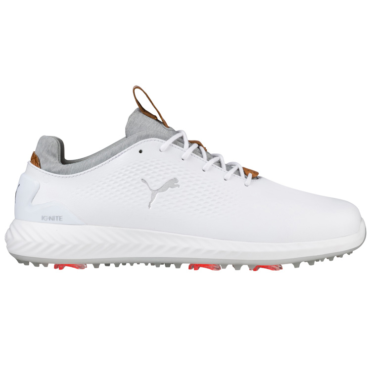 a0260b99852 Puma Ignite PWR Adapt LUX Golf Shoes White White - Clubhouse Golf