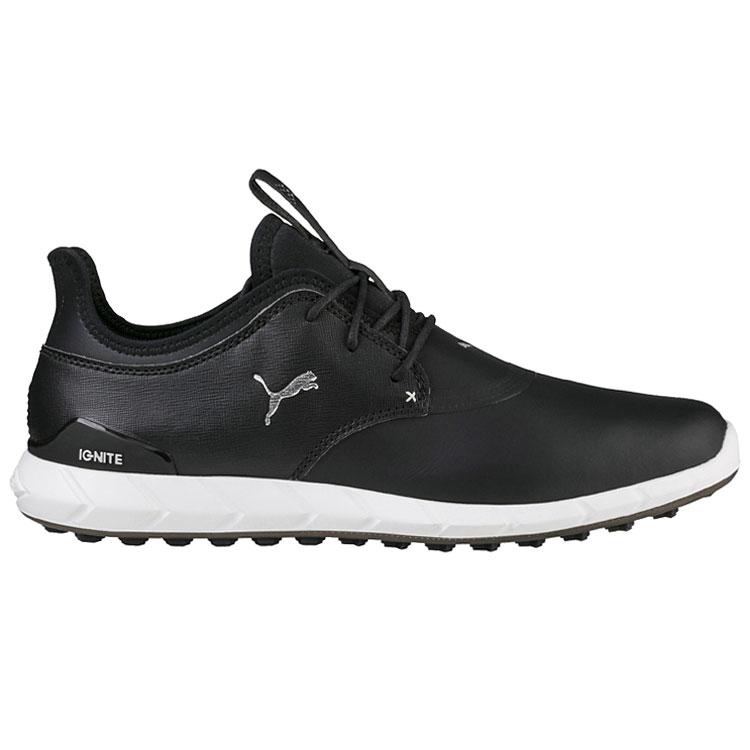 Puma Ignite Sport Pro Golf Shoes Black Silver - Clubhouse Golf 85b03e345