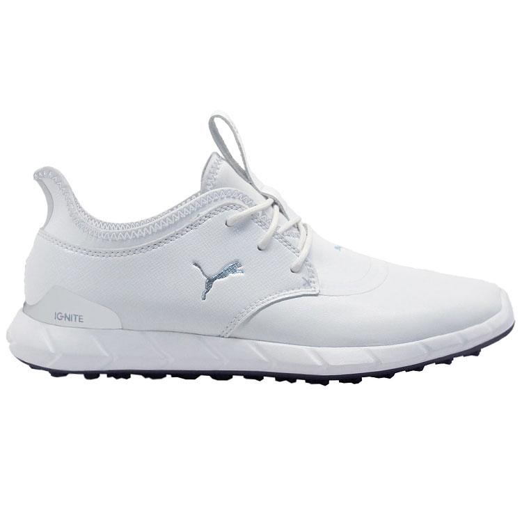 Puma Ignite Sport Pro Golf Shoes White White - Clubhouse Golf ebe30fef4
