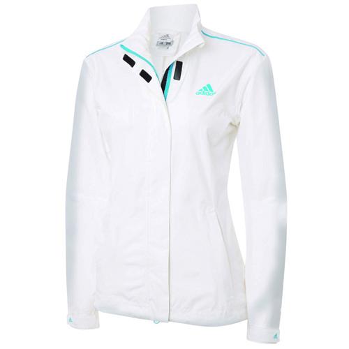 adidas signore di gore - tex impermeabile giacca bianca club di golf
