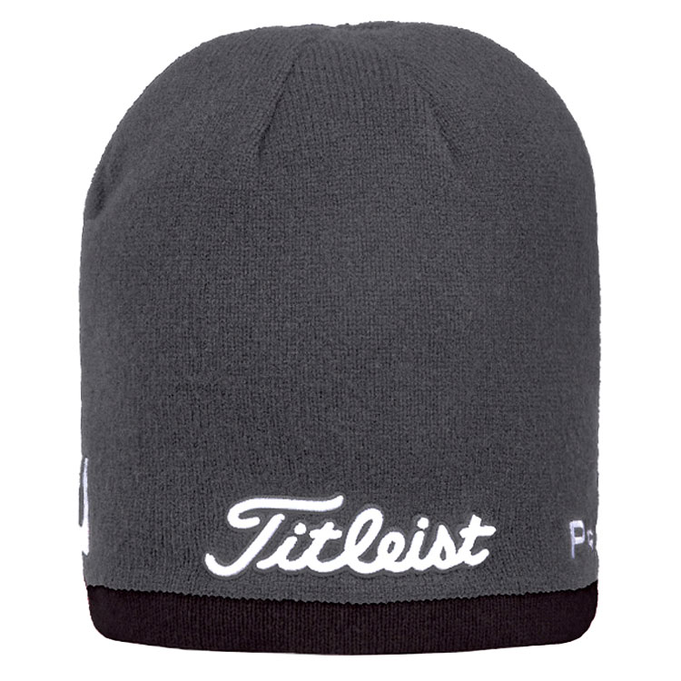 0f335a152eb Titleist Merino Performance Golf Beanie Charcoal Black TH7WEAMP-00. Double  tap to zoom