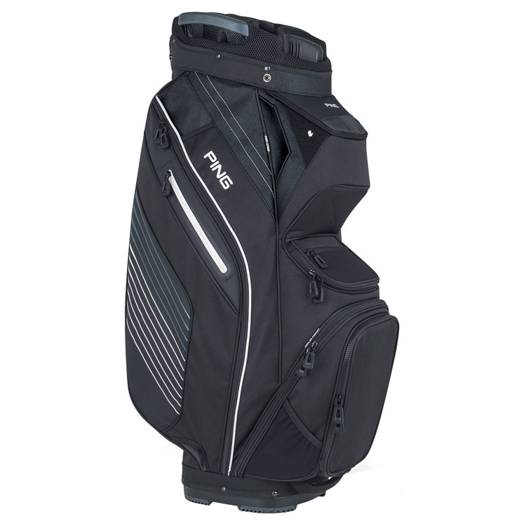 a39fff4094 Ping Pioneer III Golf Cart Bag Black 33294-01