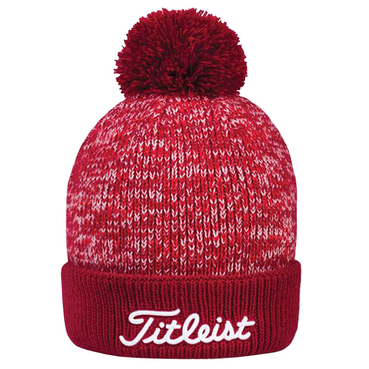 65dba7c931a Titleist Pom Pom Golf Beanie Red TH7WEAWHP-6. Double tap to zoom