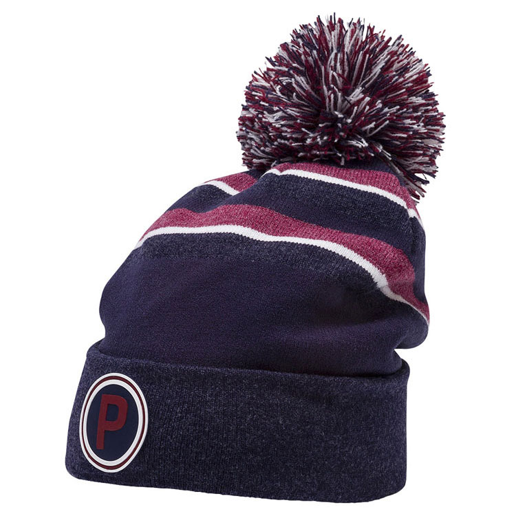 467b8892981005 Puma PWRWarm Pom Golf Beanie Peacoat 021695-02. Double tap to zoom