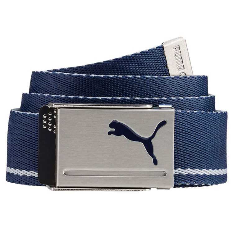 Puma Reversible Web Golf Belt Peacoat/Quarry 053199-01