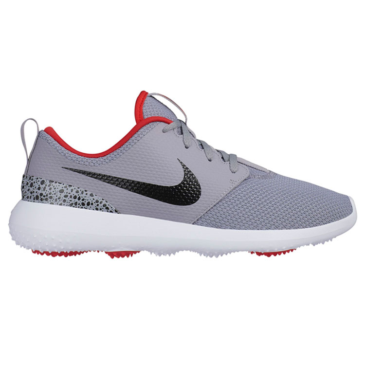 b15e812d47d2 Nike Roshe G Golf Shoes Cement Grey Black Red - Clubhouse Golf
