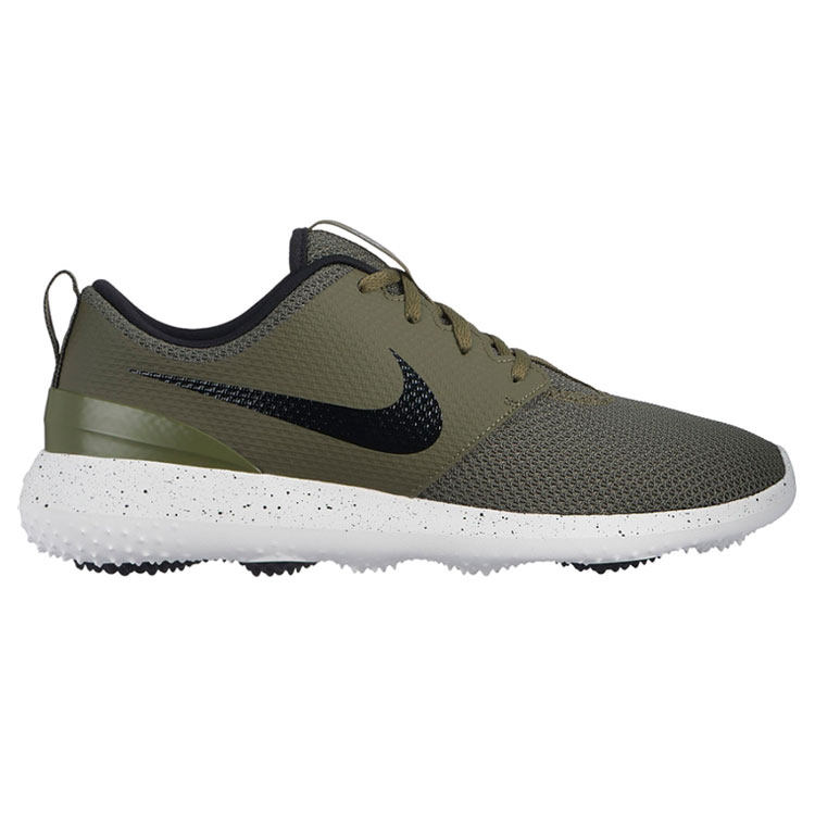 343ea77e9fec Nike Roshe G Golf Shoes Medium Olive Black White - Clubhouse Golf