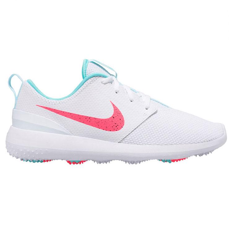 2858b3ac935 Nike Roshe G Golf Shoes White/Hot Punch/Aurora Green - Clubhouse Golf