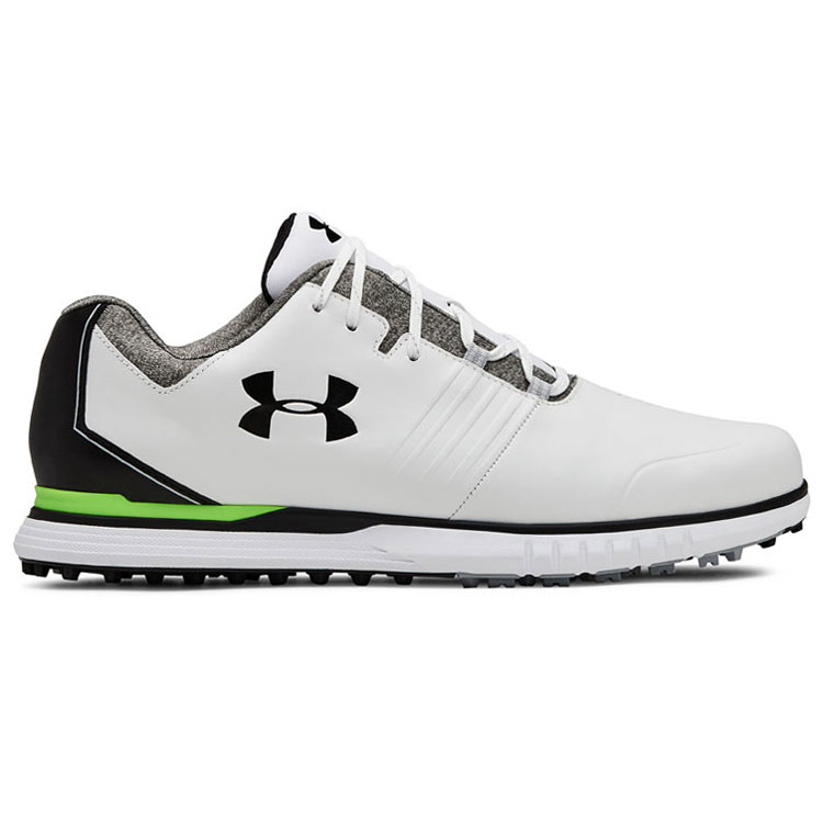 7c8f3ea8c5716e Under Armour Showdown SL Golf Shoes White Black 3022262-100