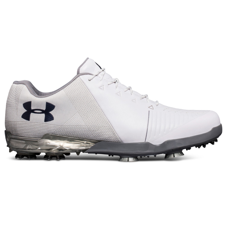60f57e478 Under Armour Spieth 2 Golf Shoes White/White/Academy - Clubhouse Golf