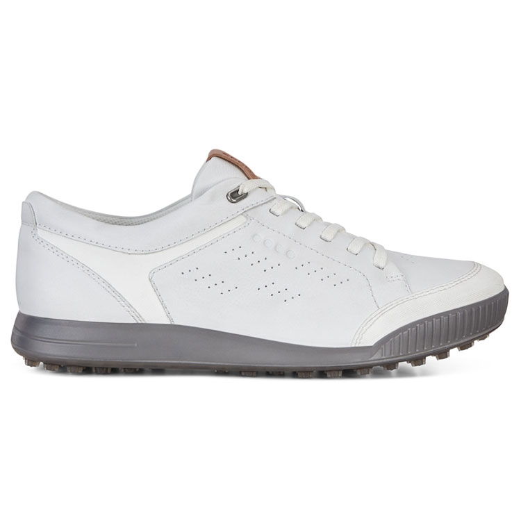 Ecco Street Retro Golf Shoes Bright White Clubhouse Golf