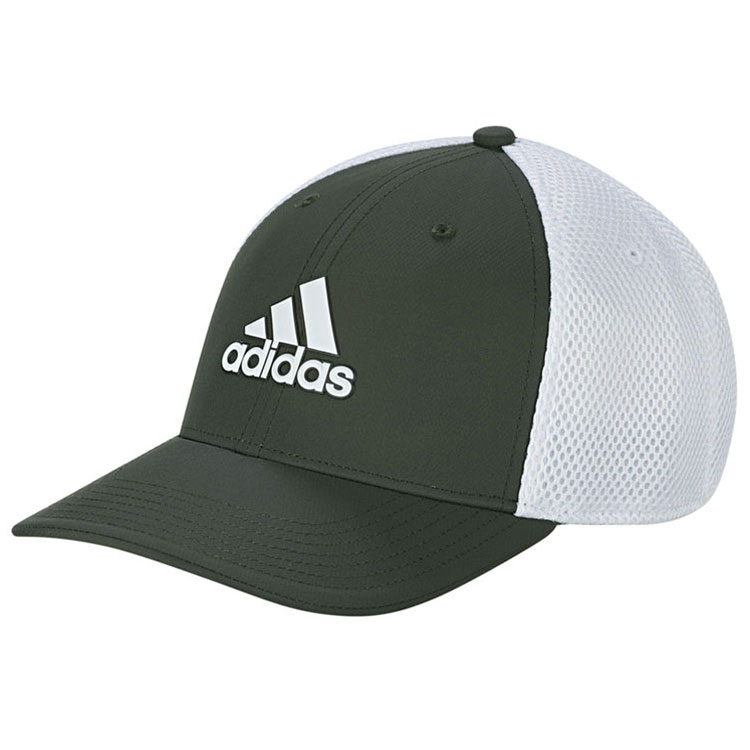 314996b6ce0 adidas Stretch Tour Golf Cap Legend Earth/White - Clubhouse Golf