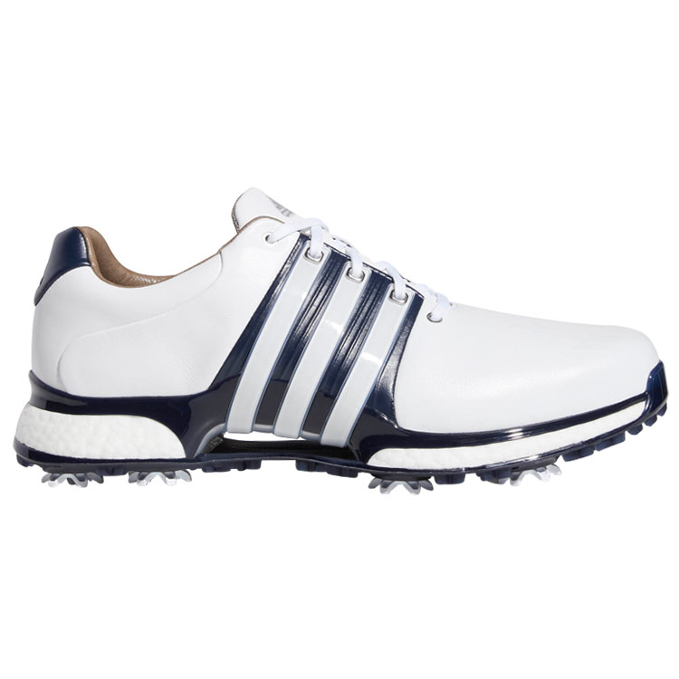 8f0c152178ae adidas Tour 360 XT Golf Shoes White Navy Silver - Clubhouse Golf