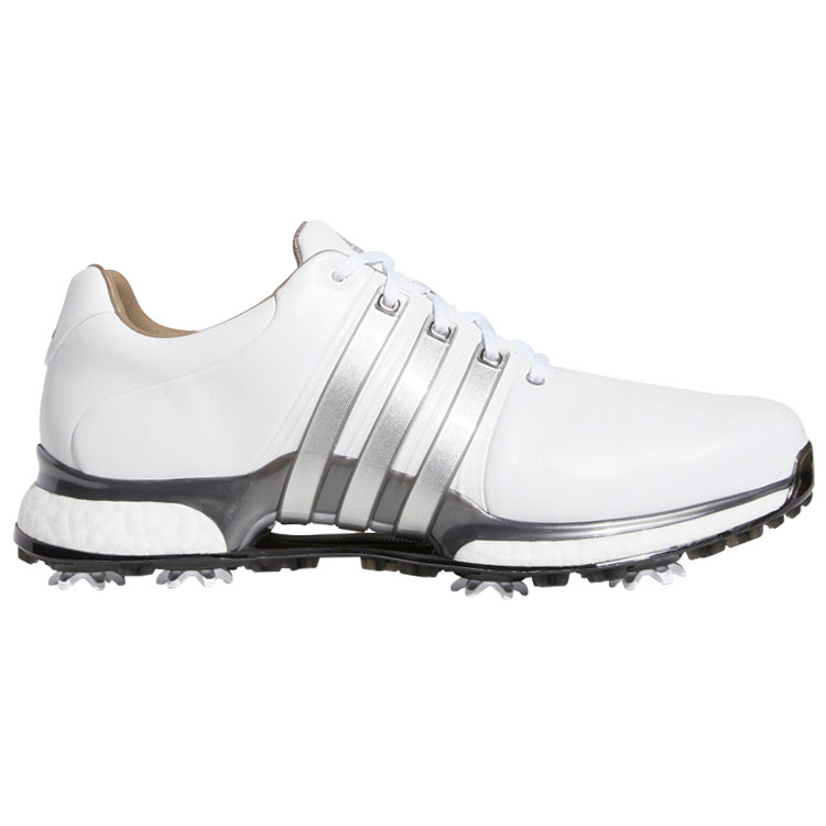 adidas Tour 360 XT Golf Shoes White White Silver - Clubhouse Golf 0fd335e3e