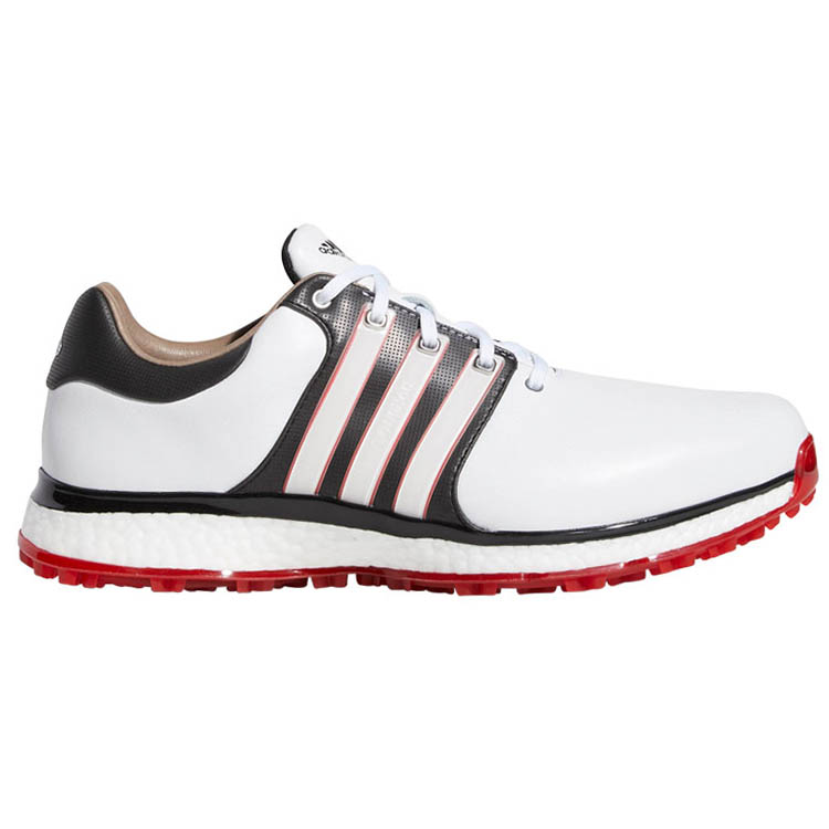 best website 90bae 410e7 adidas Tour 360 XT SL Golf Shoes White Black Scarlet