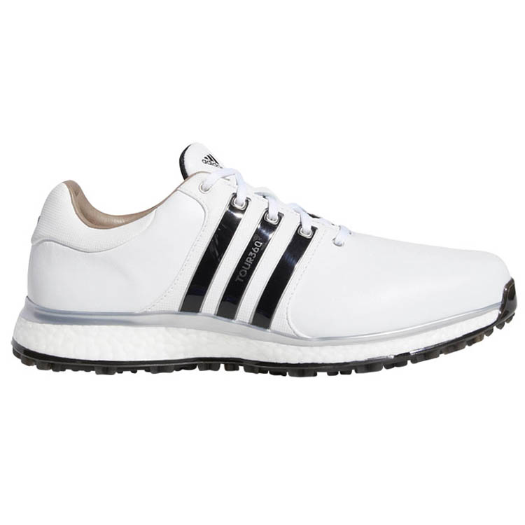 de44afd4cd69 adidas Tour 360 XT SL Golf Shoes White Black Silver - Clubhouse Golf