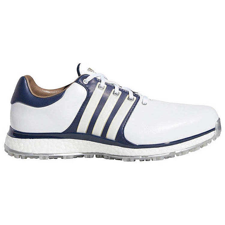 bf584217e5c5 adidas Tour 360 XT SL Golf Shoes White Navy Gold - Clubhouse Golf