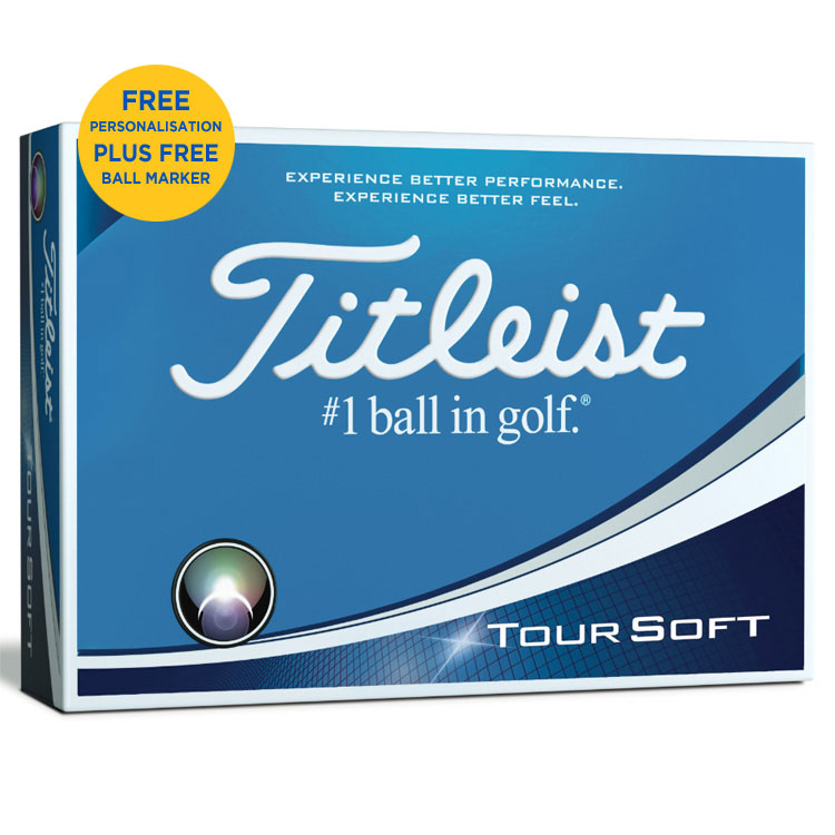 leist Tour Soft Christmas Golf Balls - Clubhouse Golf on