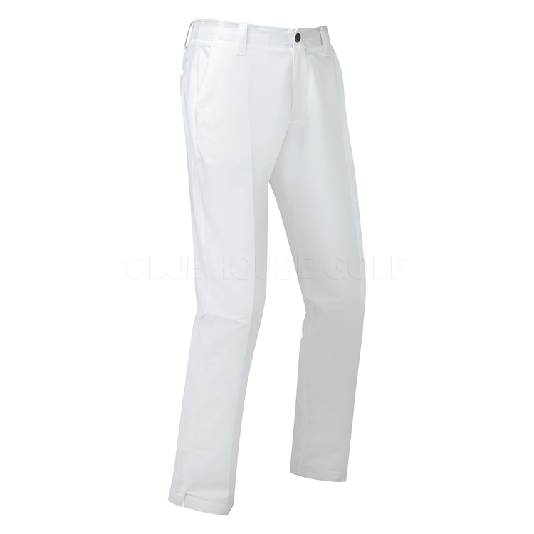0e148fd4bd9 Under Armour Match Play Taper Golf Pants White/True Gray Heather 1253492-100