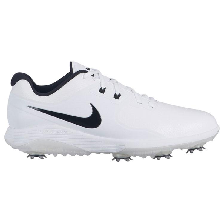 9648fea70ccd Nike Vapor Pro Golf Shoes White Black Volt - Clubhouse Golf